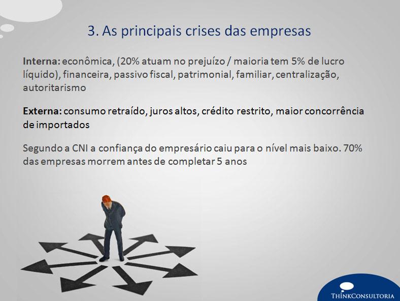 crises de uma empresa