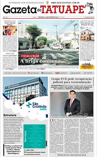 Think Consultoria realiza trabalhos de recuperacao empresarial e é destaque em jornal